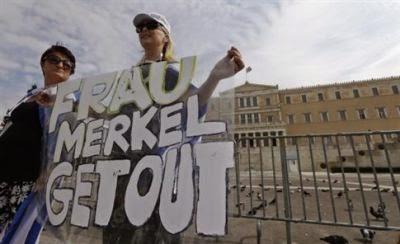 Συλλαλητήρια κατά την επίσκεψη της Α. Μέρκελ, παρά τη νέα απαγόρευση συγκεντρώσεων
