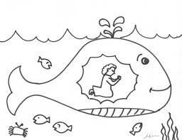 Prophet Runaway Coloring Pages For Kids