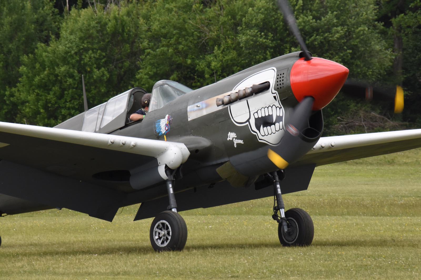 From the box - Curtiss P-40N Warhawk [Eduard 1/48] P40+Little+Jeanne+F-ZKU