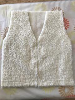 sew shepherd costume vest