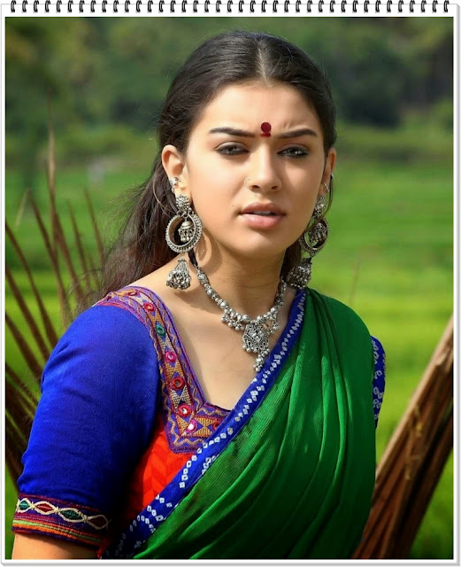 hansika-motwani-hot-in-Saree-photos-6