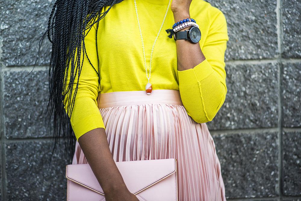 Fall Fashion: Pleated Maxi Skirt