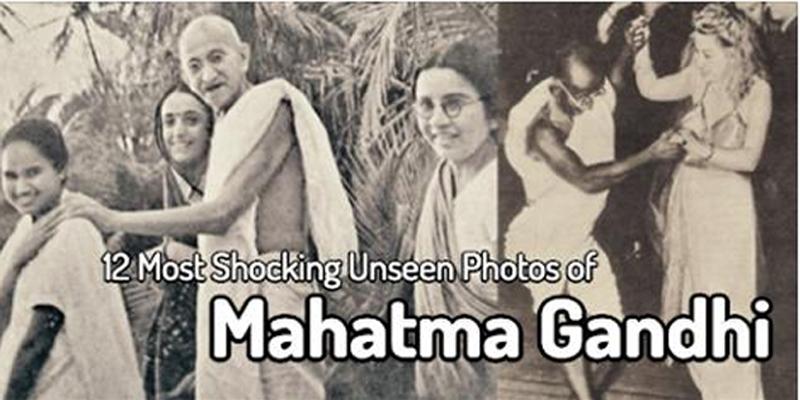 Mahatma gandhi sexuality