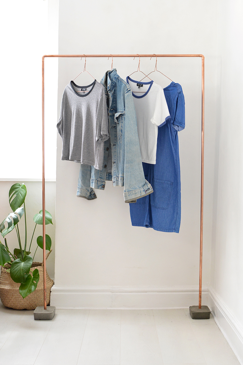 how to make a clothes rack