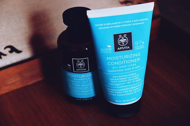 apivita moisturizing haircare