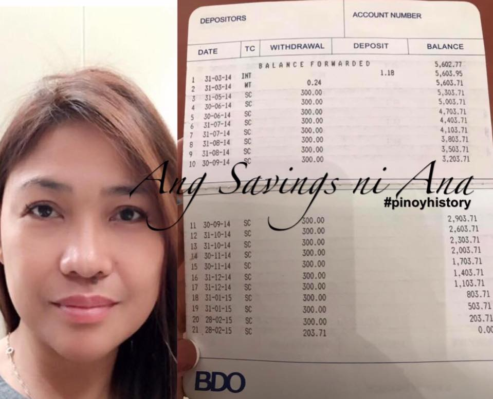 BDO depositor loses entire savings due to minimum balance fees