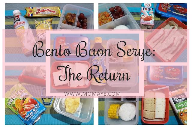 bento, bento baon, weekly bento baon, bento baon serye, school baon, bento mom, bento lover