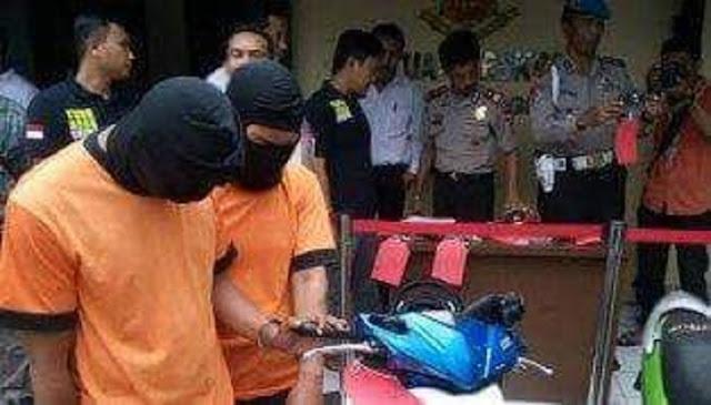 Dua Pelaku Perampok Toko Emas Pasar Ceplak Kronjo, Ditangkap Petugas Polresta Tangerang