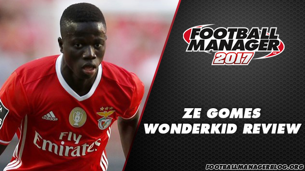 Ze Gomes - FM 2017 Wonderkid Review