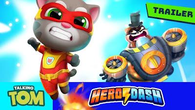 Talking Tom Hero Dash Apk + Mod [Unlimited Money] Download