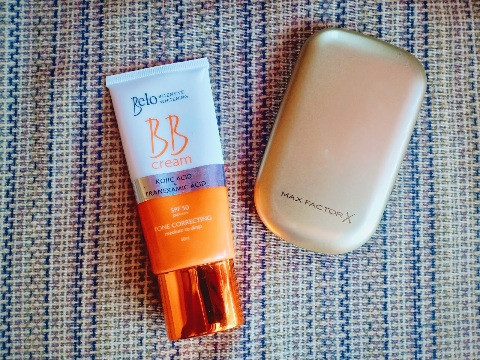 Base Makeup Max Factor and Belo BB Cream