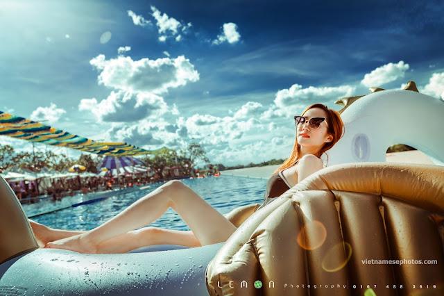 Beautiful Vietnamese girl bikini vol 77 10