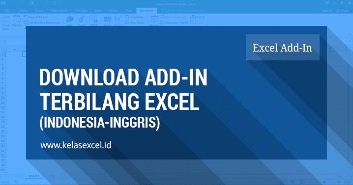 Download Add In Fungsi Terbilang Excel Indonesia Dan Inggris
