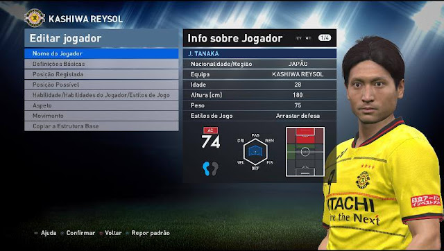 PES 2016 Patch Tuga Vicio Update 3.2