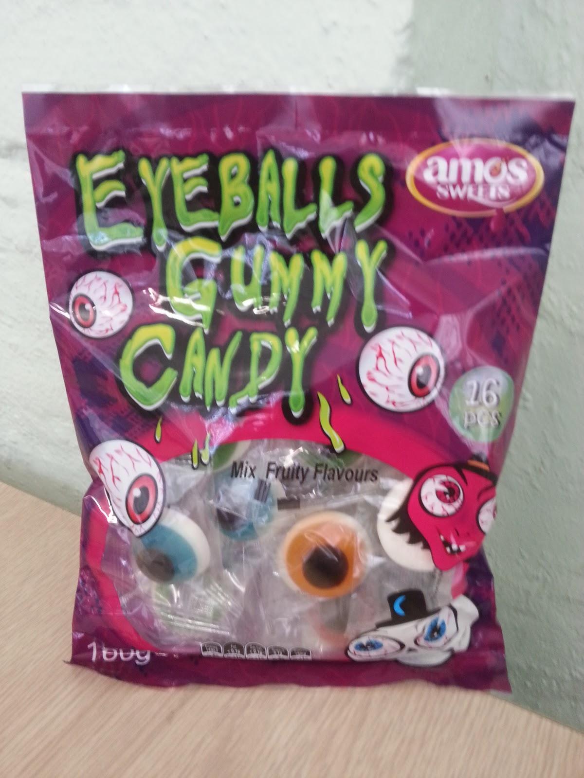 Junk Food Journal: Halloween - Eyeball Gummy Candy
