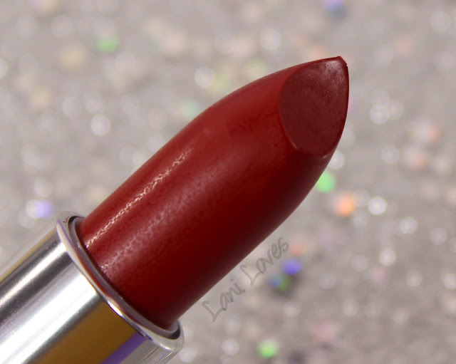Maybelline Loaded Bolds Lipstick - Dynamite Red Swatches & Review