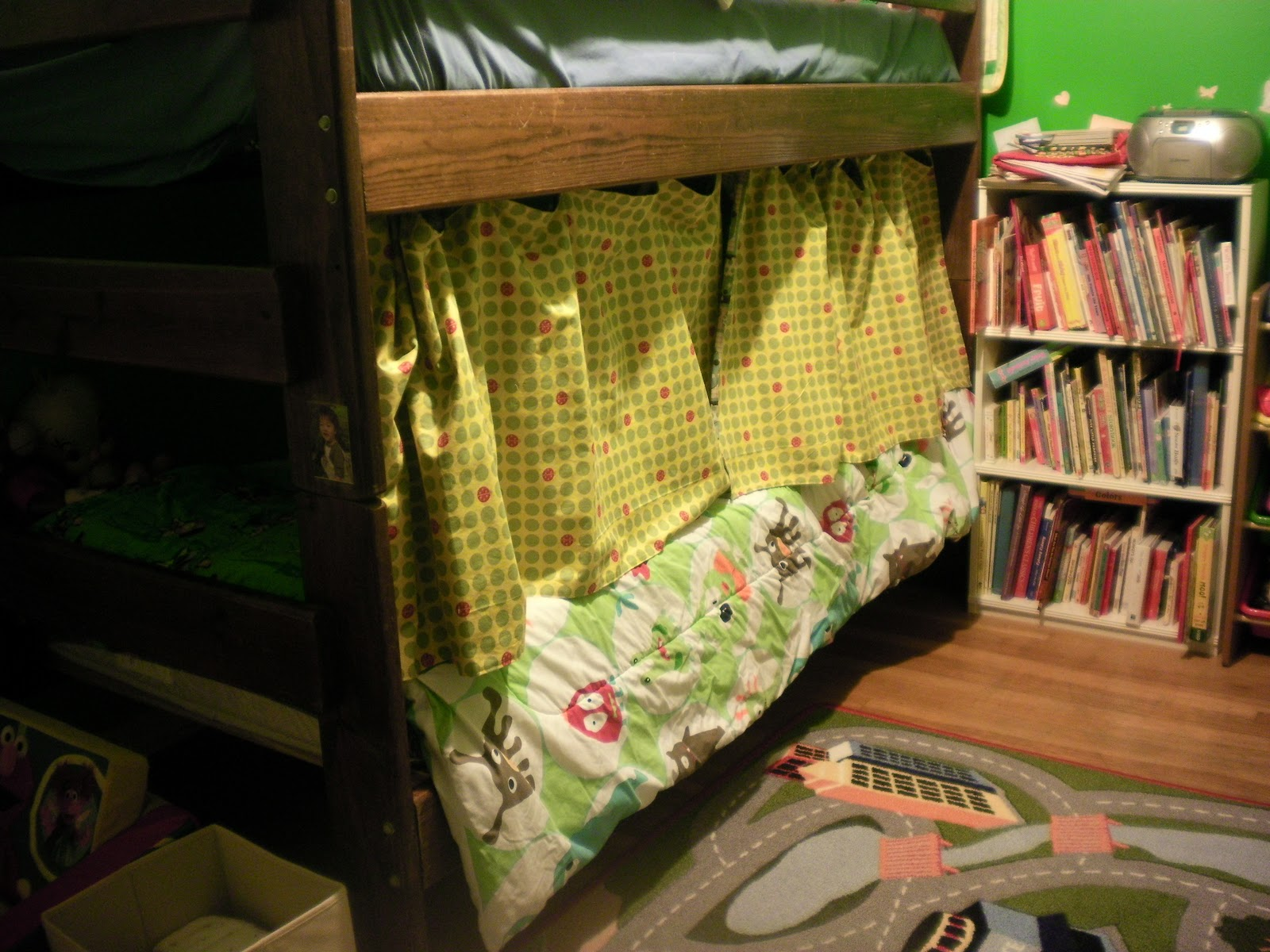 Handmade Family Bunk Bed Curtains How Cool Is That