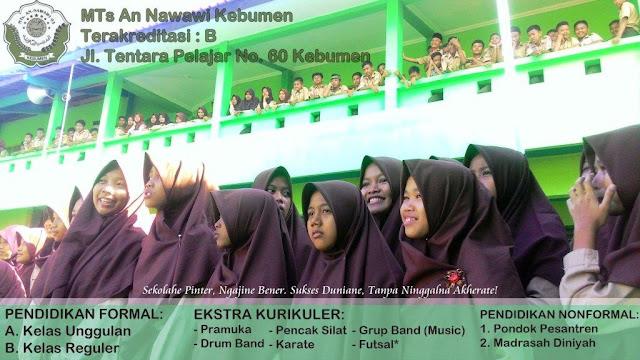 Lowongan Pendidik di MTs An Nawawi Kebumen