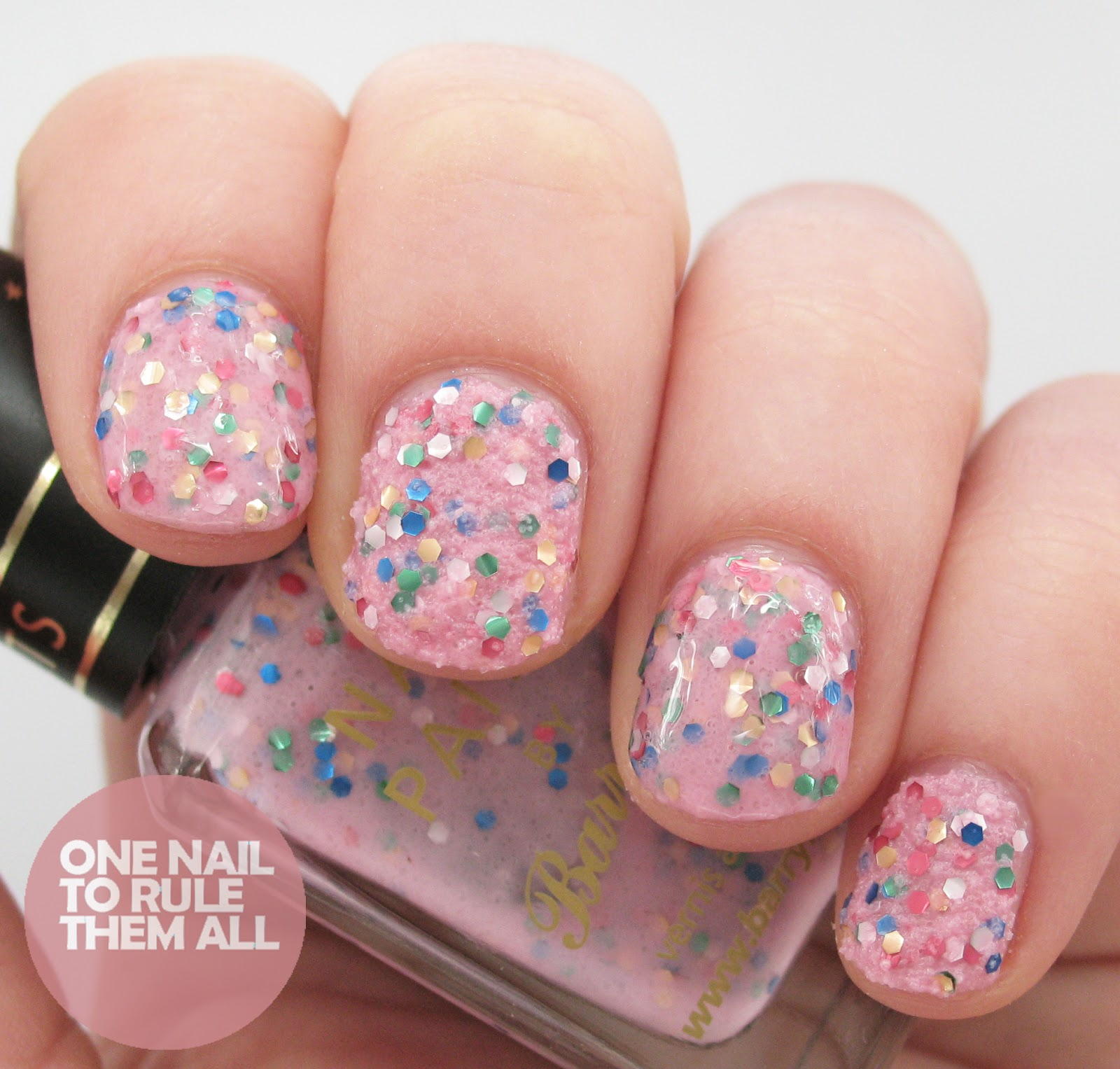 One Nail To Rule Them All: Barry M Sequin Nail Effects Review