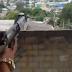 Rio de Nojeira: Bandido atira em direção a escola e o ferrolho volta no rosto dele