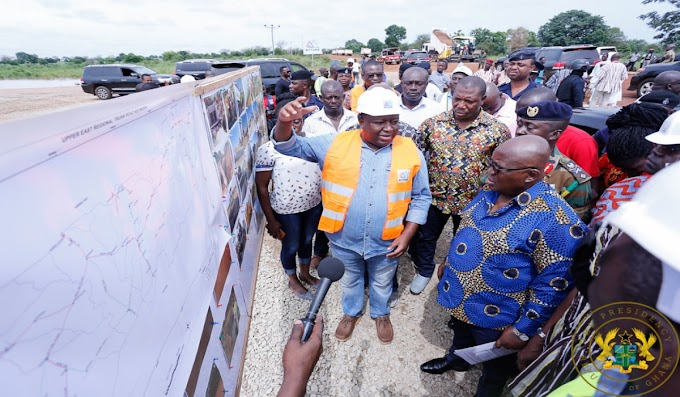"""570 Dams, 15 Warehouses Being Constructed In 3 Northern Regions"" – President Akufo-Addo"