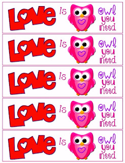 Love is Owl You Need Free Bookmarks
