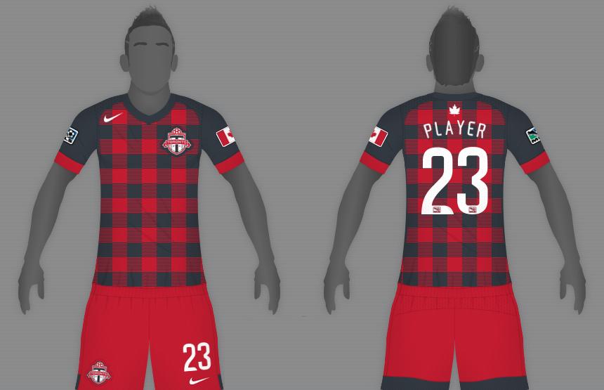 big sale 64779 a0739 Concepts: Toronto FC Football Kits | FOOTY FAIR