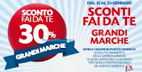 Logo Pam Panorama: Sconti fai da te 30% Grandi Marche