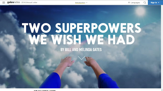 Two Superpowers We Wish We Had By Bill and Melinda Gates