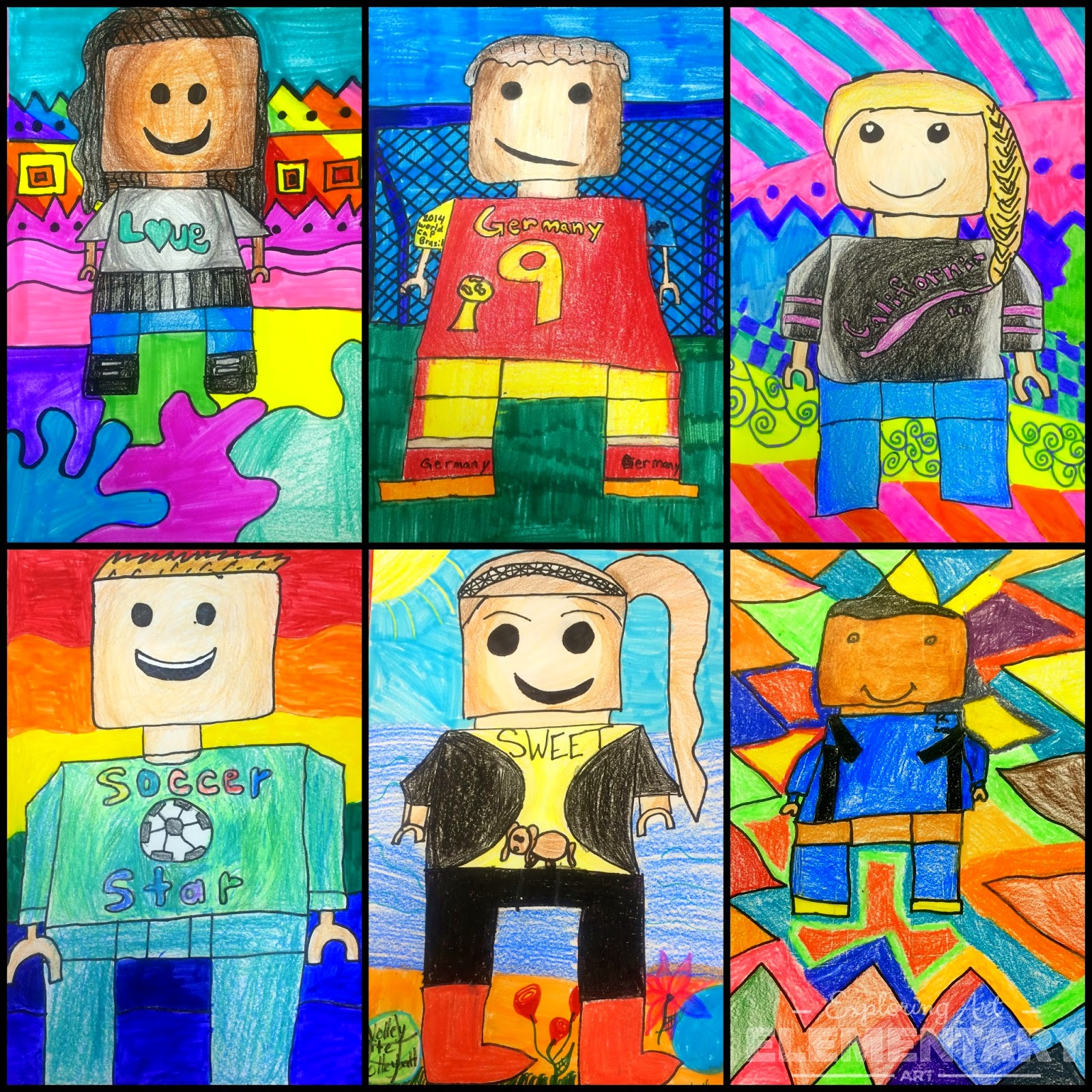 Art. Eat. Tie Dye. Repeat.: THEY'RE BACK-5th Grade Lego ...