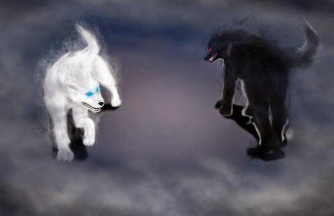 El Mito del Cadejo o Cadejos Blanco y Negro