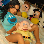 Selena Spice Camiseta Azul, Cachetero Azul, Elmo Comegalletas Foto 44