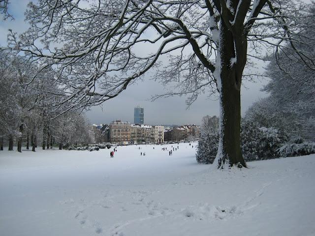 Inverno em Bruxelas