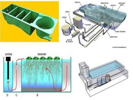 sistem filter kolam koi - akuarium ikan hias