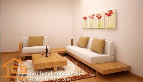 Sofa bền đẹp - giá rẻ sản xuất tại xưởng Nội Thất Chàng Sơn 17