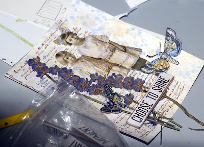 Tim Holtz Idea-Ology Quote Chips  Stampers Anonymous Entomology Tim Holtz Paper Dolls Ranger Distress Oxides For the Funkie Junkie Boutique