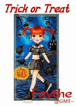 trick or treat girl sigtag