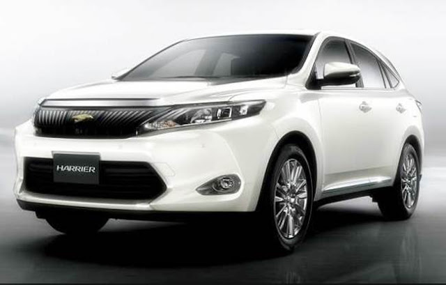 2017 Toyota Harrier Redesign