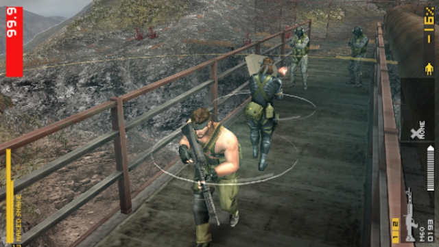 Metal Gear Solid Portable Ops Plus PPSSPP