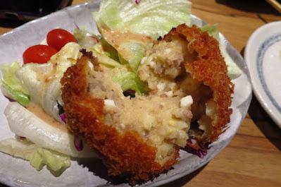Tampopo, beef potato croquette