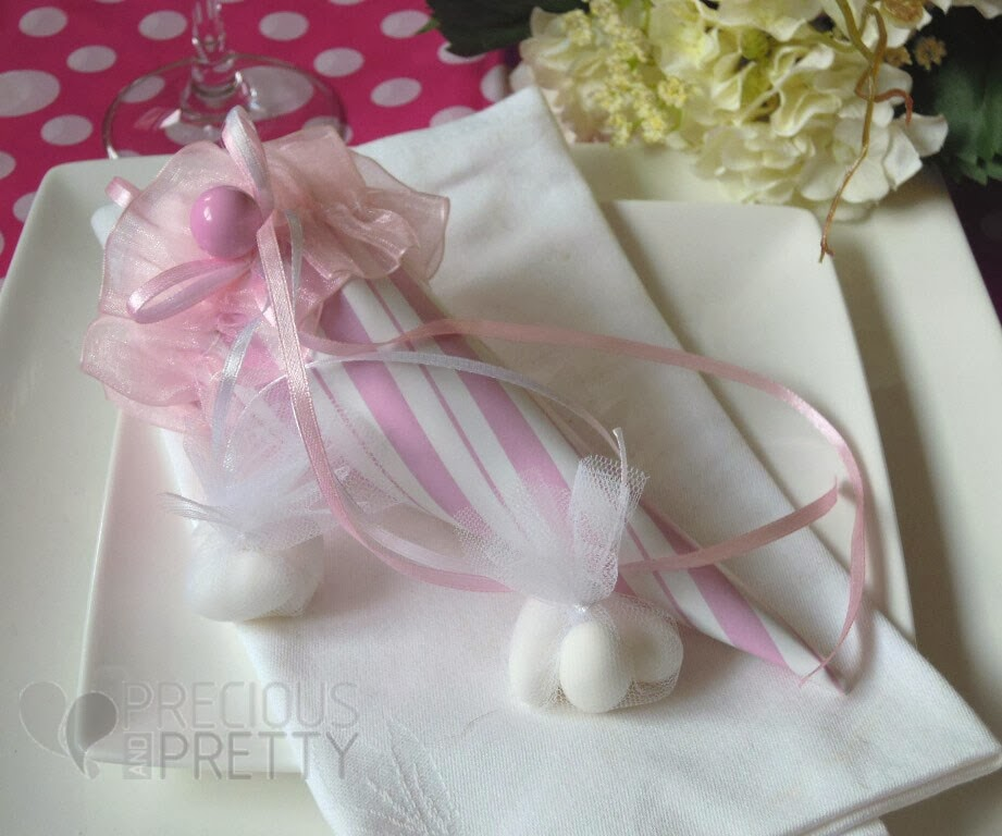 Christening favors ice cream for girl B014