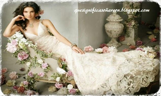 cual es el significado de soñar con vestido para matrimonio