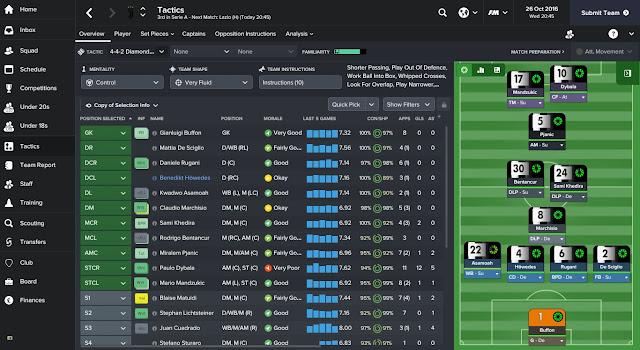 Football Manager Winning Tactics