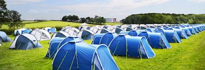 Pre erected tent hire, campingf1, formula 1 campsites, silverstone