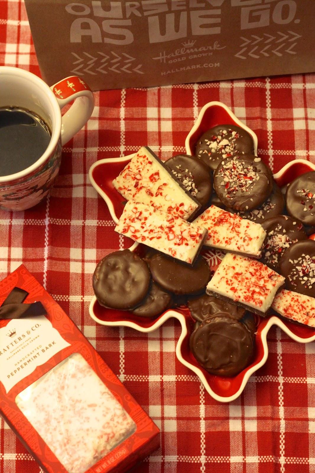 Kicking off Christmas with Hallmark + Cookies