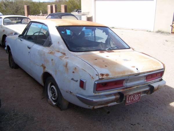 Restoration Project Cars: 1972 Toyota Corona Project