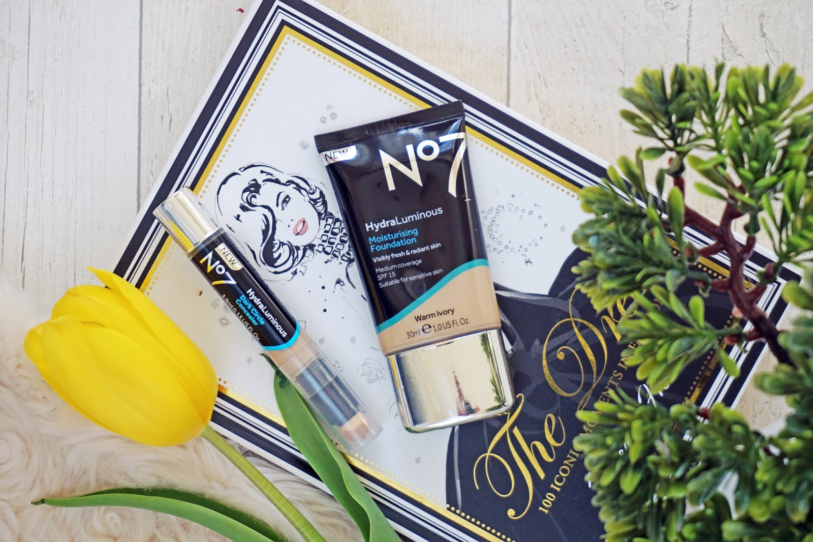 No7 HydraLuminous Foundation and Concealer