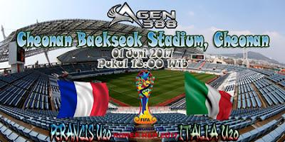 JUDI BOLA DAN CASINO ONLINE - PREDIKSI PERTANDINGAN KEJUARAAN DUNIA YUNIOR U20 PERANCIS VS ITALIA 01 JUNI 2017