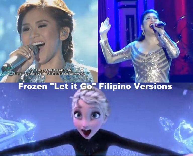 "Frozen ""Let it Go"" Filipino Versions"