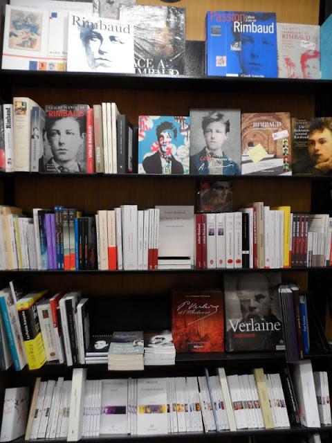 Librairie Rimbaud, rue de la République à Charleville